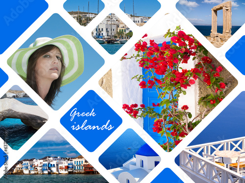 Summer photos of Greek islands, Greece