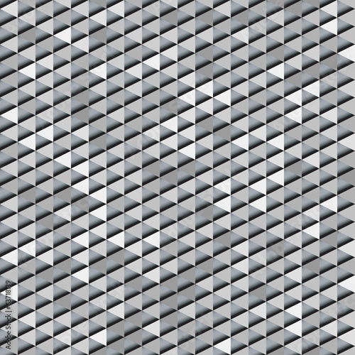 Abstract background of black and white triangles .Clipping masks