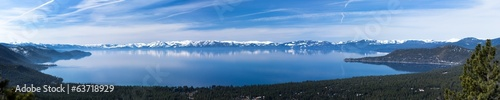 Papiers peints Grands Lacs Lake Tahoe panorama