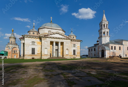 Boris and Gleb's cathedral in Borisoglebsky Monastery in Torzhok