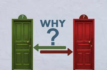 why decision between two doors