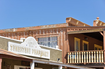 Historic buildings in Tombstone, Arizona