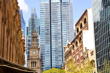 Sydney Town Hall and Queen Victoria Building  (Australia)