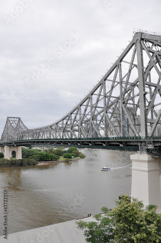 Story Bridge in Brisbane, Australia