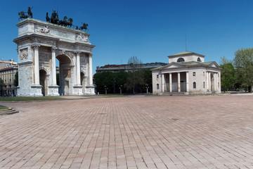 Milano . Arco della Pace