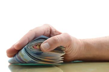Geld Hand