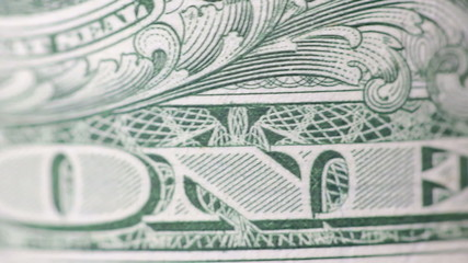Dollar bill macro rotating