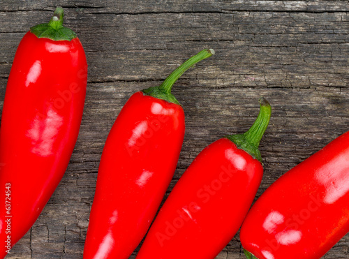 sweet red pepppers