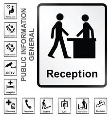 general public information signs