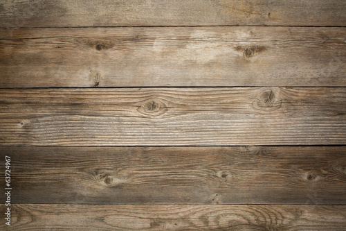 Foto op Canvas Hout rustic weathered wood background