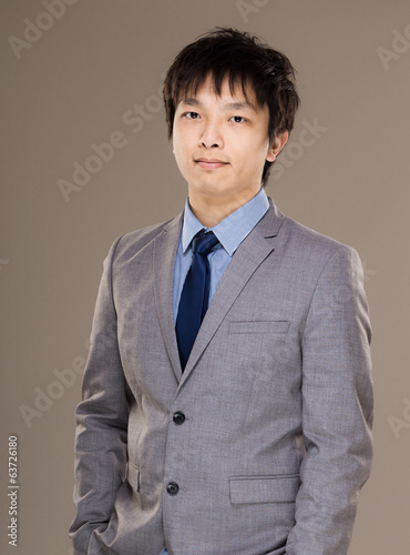 Asia businessman