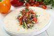 tortilla wrap vegetariana