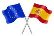 Flags : Europe and Spain