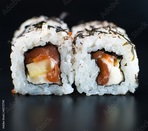 Roll Sushi isolated