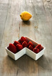 lemon with strawberries