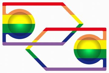Union Gay / Lesbienne  -  Gay Pride