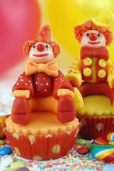 cupcake con pagliaccio