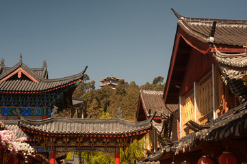 Historic town of Lijiang,UNESCO World heritage site.