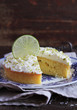 Pound cake with lemon, lime