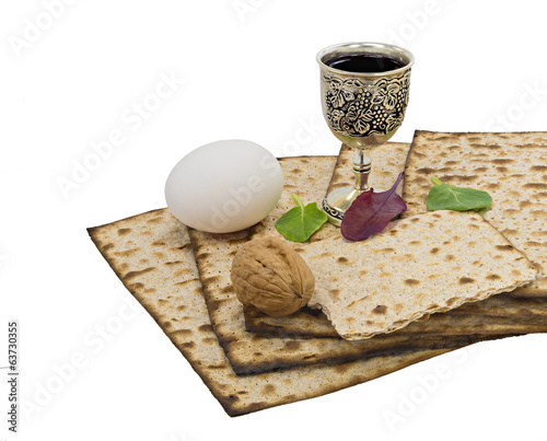 Traditional food of Jewish Passover holiday