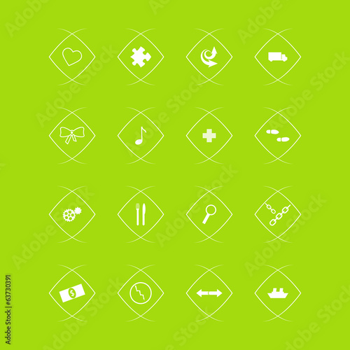 vector collection of flat icons