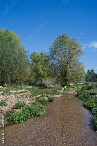 Little river, Santa Coloma, Catalonia