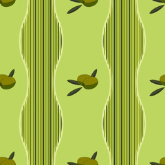 background with green olives
