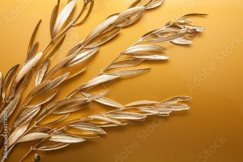 Golden branches