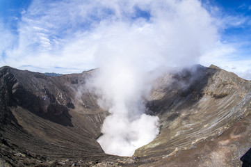 bromo mount crater