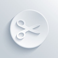 vector light circle icon. Eps 10