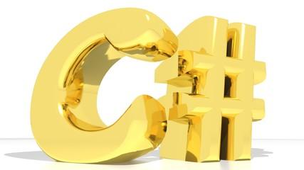 C# Sharp gold