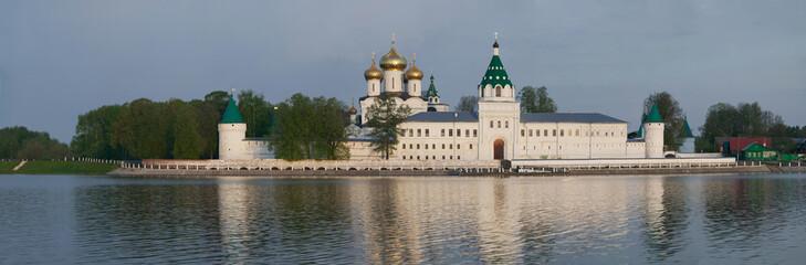 Ipatiev monastery panorama, Kostroma city, Russia