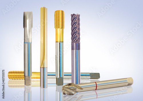 special metal tools, drills