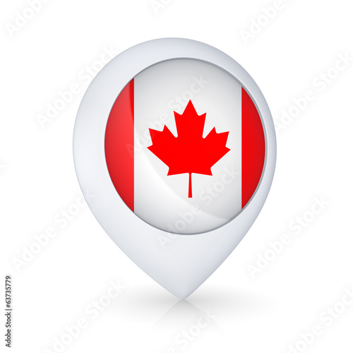 Icon with Canadian flag.