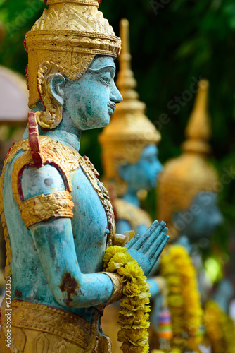 Angel statue of asian art, Thailand