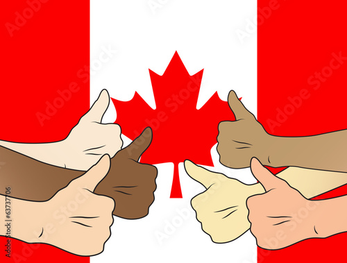 thumbs up canada
