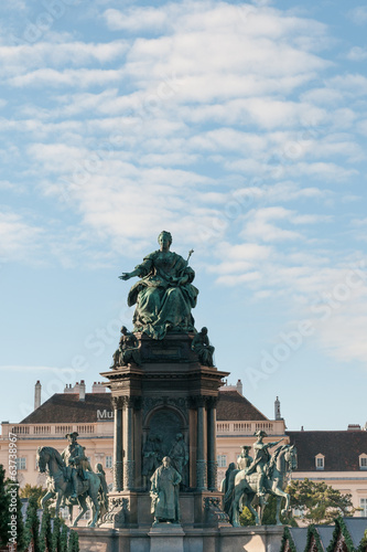 denkmal maria theresia in wien