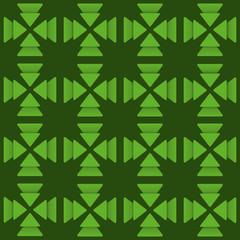 creative green triangle  design background vector