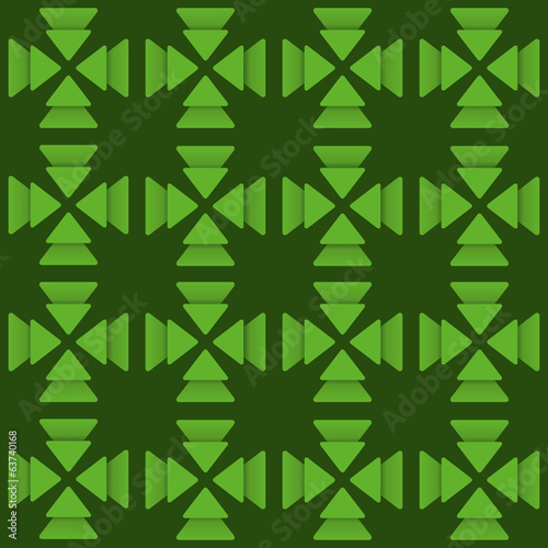 creative green triangle  design background vector