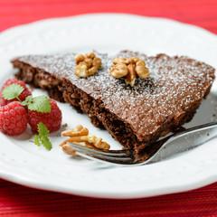 Schokoladen-Walnuss-Kuchen