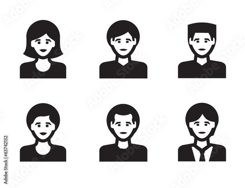 People icon. Vector format