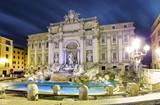 Rome, Italy - famous Trevi Fountain (Italian: Fontana di Trevi)