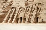 Fototapeta The Temple of Hathor and Nefertari, Abu Simbel, Egypt
