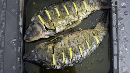 carp cooking
