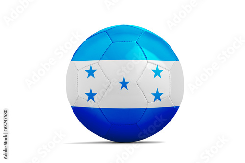 Soccer balls with teams flags, Brazil 2014. Group E, Honduras