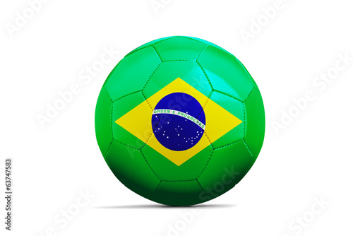 Soccer balls with teams flags, Brazil 2014. Group E, Brazil