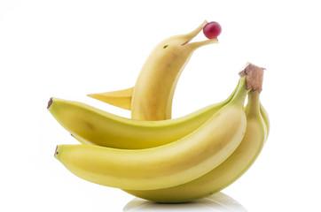 banane con decorazione