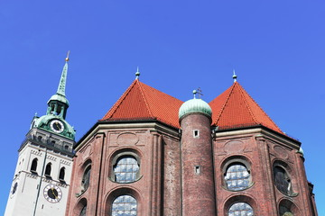 München Pfarrkirche Sankt Peter