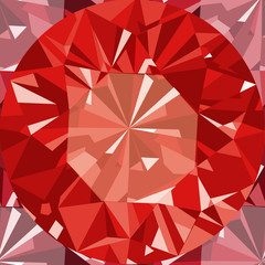 Ruby seamless pattern background.