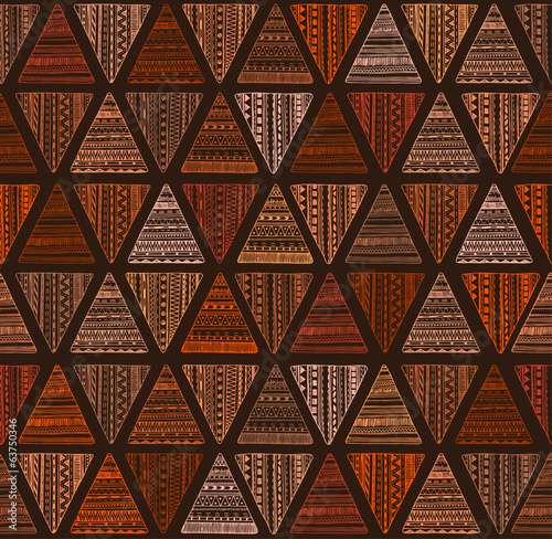 Vector tribal ethnic background.